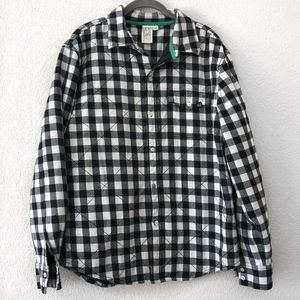 Other - Men's Quilted Checker Flannel Large